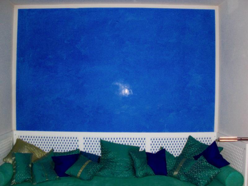Malerei raumgestaltung wagner r ume for Raumgestaltung blau